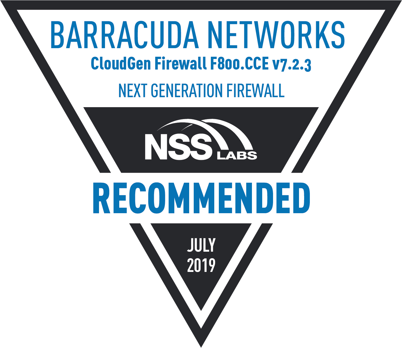 Barracuda Network NGFW 2019