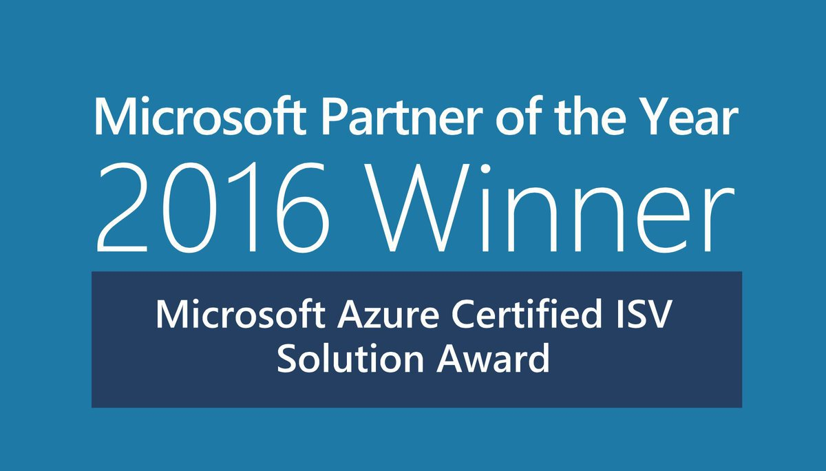 Microsoft Partner of the Year!