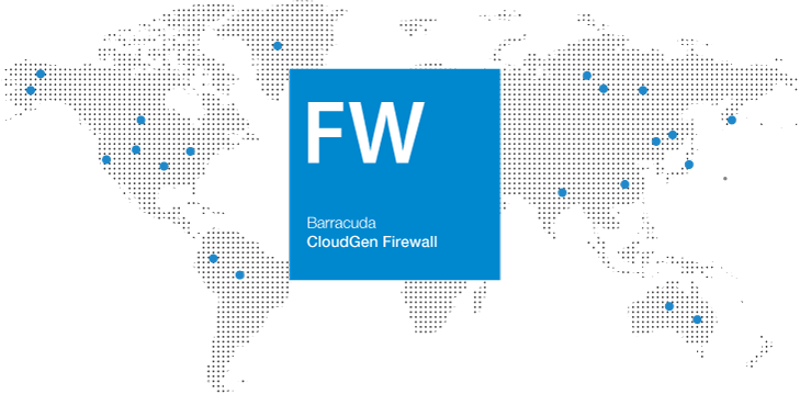 Barracuda NextGen Firewall F World Map